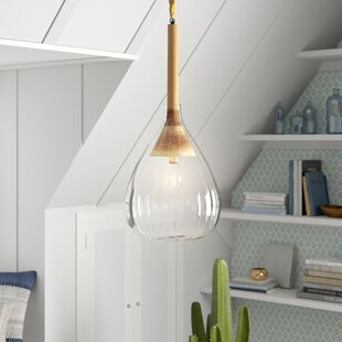 Mistana Fifi 1-Light Teardrop Pendant