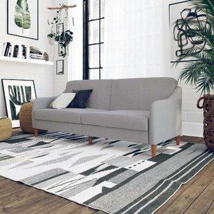 Tulsa Light Gray Convertible Sleeper Sofa
