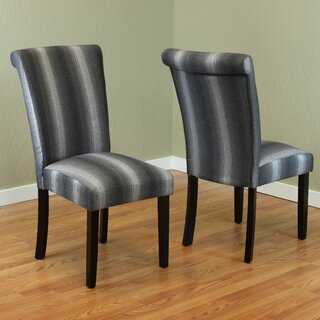 Annalise Upholstered Dining Chair (Set of 2) by Laurel Foundry Modern Farmhouse SKU:CC705383 Description