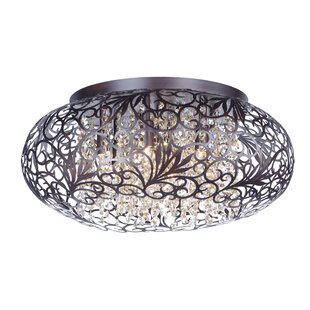 Savings Chester 7-Light Flush Mount By House of Hampton