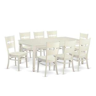 August Grove Carmel 9 Piece Dining Set