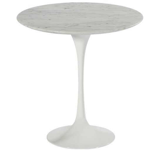 Marble End Table #saarinen #marble #sidetable