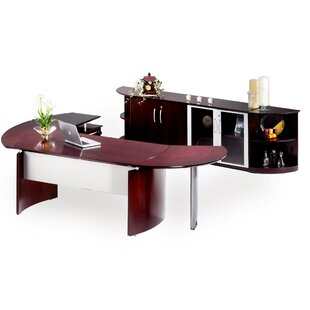 Mayline Group Napoli Series 2-Piece Desk Office Suite