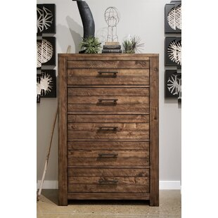 17 Stories Emst 5 Drawer Chest