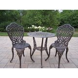 Mcgrady 3 Piece Bistro Set
