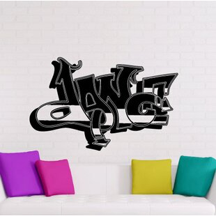 Pantoja Graffiti Dance Wall Decal