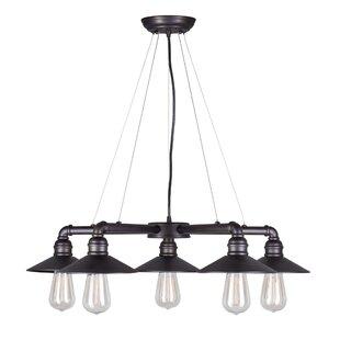Mcquiston 5-Light Shaded Chandelier by Ebern Designs