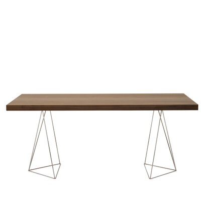 Brayden Studio Durkee Dining Table Color: Walnut, Size: 63