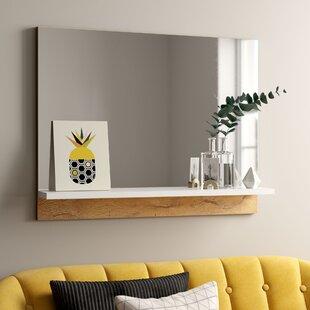 mirror wall mirrors wayfair co uk rh wayfair co uk rectangular wall mirror for living room rectangular wall mirror for living room