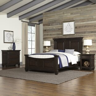 Larksville Panel 4 Piece Bedroom Set
