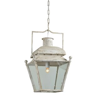 Bryanna 1-Light Lantern Pendant by Opheli..