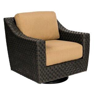 Cooper Swivel Patio Chair by Woodard