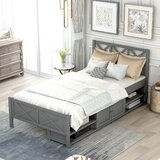 Lazarus Twin Platform Bed by Longshore Tides