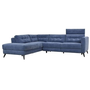 Brayden Studio Dante Reclining Power Modular Sectional