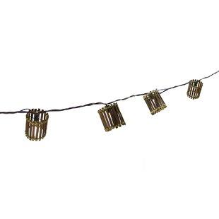 9.5 ft. 10-Light Shaded String Light by Northlight Seasonal
