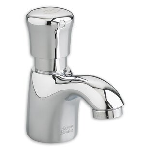 Comparison Pillar Tap Metering Faucet with Extended Spout ByAmerican Standard