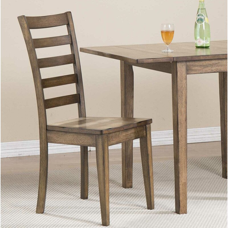 Prime Rutledge Ladderback Solid Wood Dining Chair Beutiful Home Inspiration Cosmmahrainfo