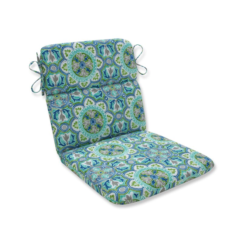 Charlton Home Creswell Tile Pool Indoor Outdoor Dining Chair Cushion Wayfair