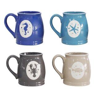 Ardina 4 Piece Mug Set