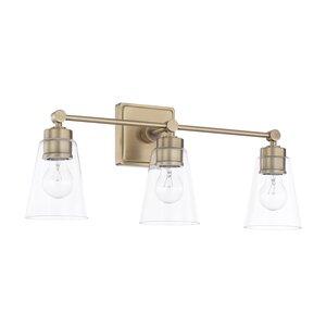 Modern antique brass vanity lighting allmodern save to idea board aged brass mozeypictures Choice Image