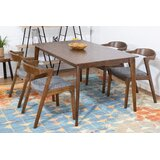 Vereen 5 Piece Solid Wood Dining Set by Corrigan Studio®