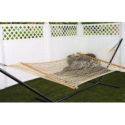 Kaliyah Double Cotton Rope Hammock by Bay Isle Home Discount