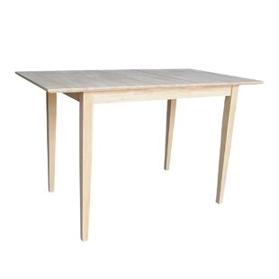 Butterfly Solid Wood Dining Table by International Concepts Great price