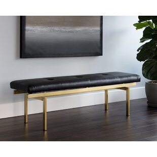 Dominquez Metal Bench by Everly Quinn