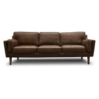Embassy Leather Sofa & Reviews | AllModern