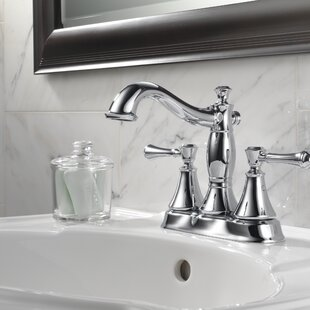 Bargain Cassidy Centerset Bathroom Faucet with Metal Pop-Up By Delta