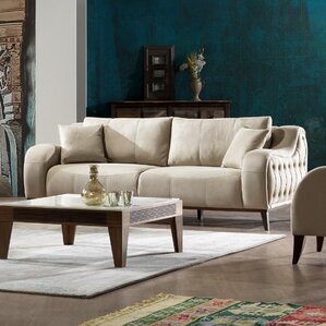 Danos Modern 3 Seater Sofa by Brayden Studio