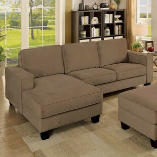 Gracie Oaks Reyes Sectional with Ottoman