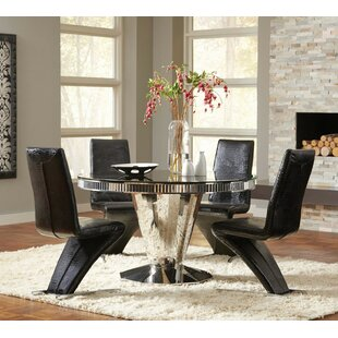 Infini Furnishings Fellini 5 Piece Dining Set