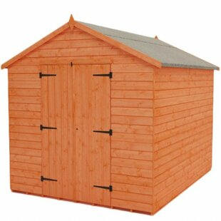 Tiger 8 Ft. W X 8 Ft. D Tongue And Groove Apex Wooden Shed By Tiger Sheds