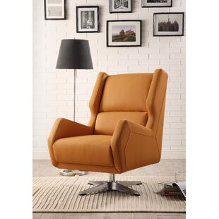 Boerger Swivel Wingback Chair By Ivy Bronx