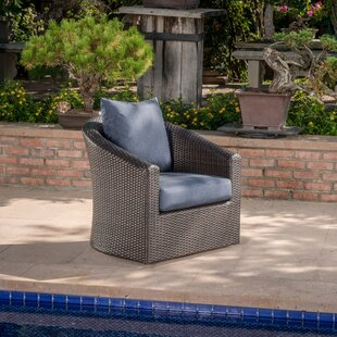 outdoor wicker swivel rocker wayfair