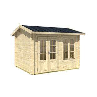 Alex 10 X 8 Ft. Tongue & Groove Summer House By Sol 72 Outdoor
