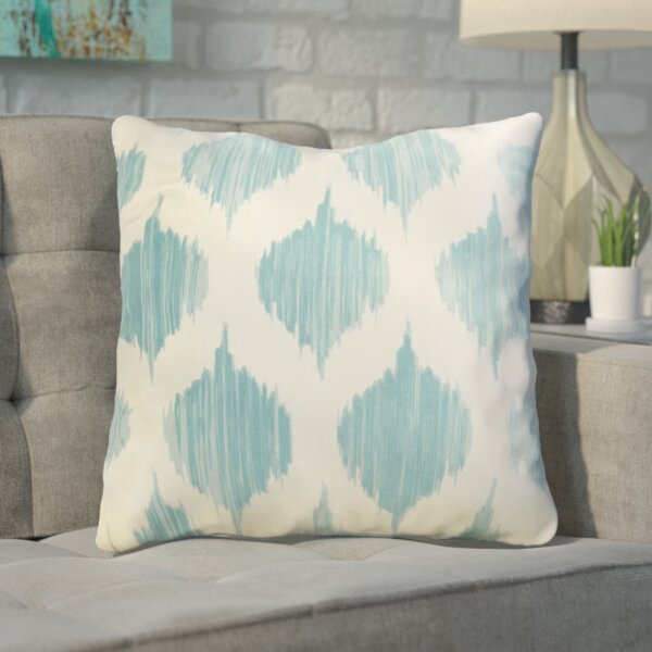 Mercury Row Cline 100% Cotton Throw Pillow & Reviews by Mercury Row