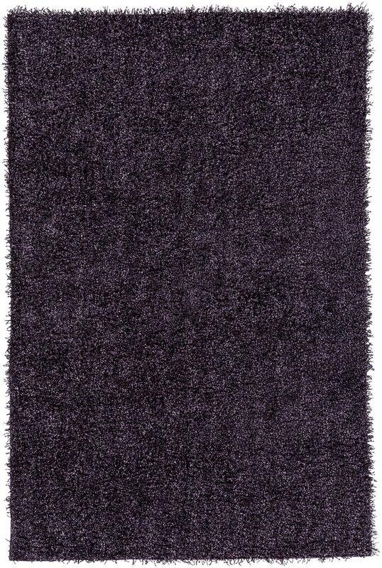 Mchaney Hand-Tufted Purple Area Rug