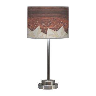 Organic Modern Facet Stem 24 Table Lamp