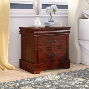 Reviews Veasley 2 Drawer Nightstand by Charlton Home