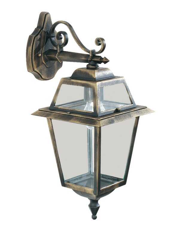 Searchlight new orleans 1 light outdoor wall lantern for Luminaire exterieur retro