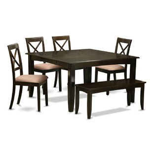 Pilning 6 Piece Dining Set
