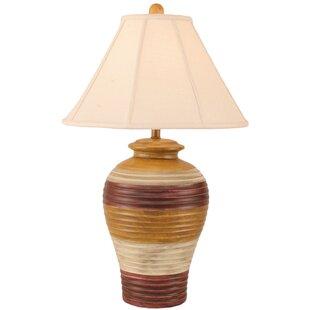 Rustic Living Pottery Pot 29 Table Lamp