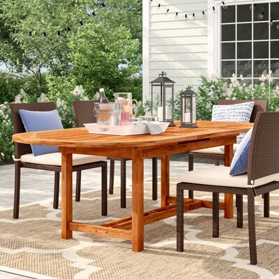 Brighton Extendable Wood Dining Table by Sol 72 Outdoor Savings