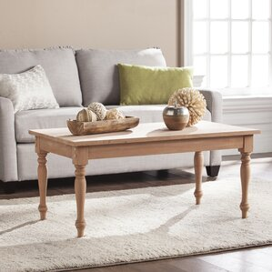 Cairnbrook Wood Coffee Table by Highland Dunes