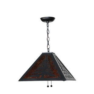 Meyda Tiffany Tall Pine 2-Light Pendant