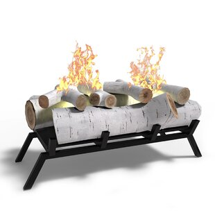 gel fireplace logs wayfair rh wayfair com Gel Fuel Log Inserts Gel Fuel Fireplace
