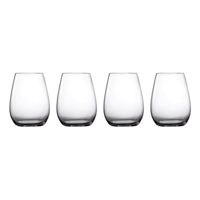 Waterford Marquis Moments White Wine 12.8 Oz Set of 4
