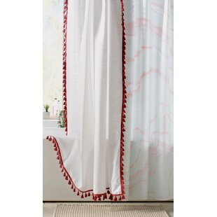 Red Shower Curtains Youll Love Wayfair